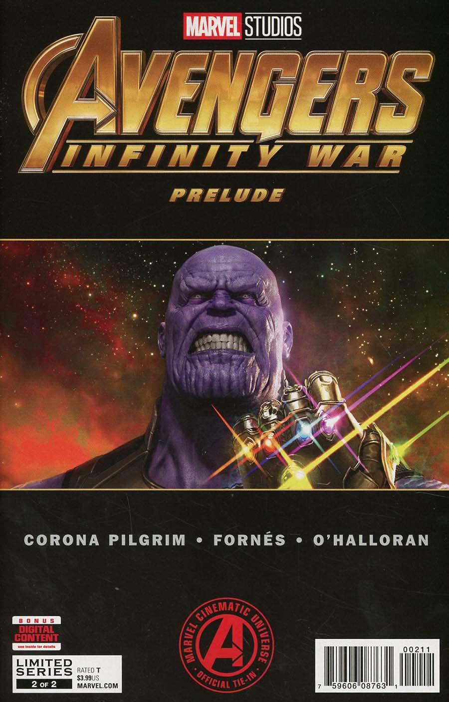 Marvels Avengers Infinity War Prelude #2