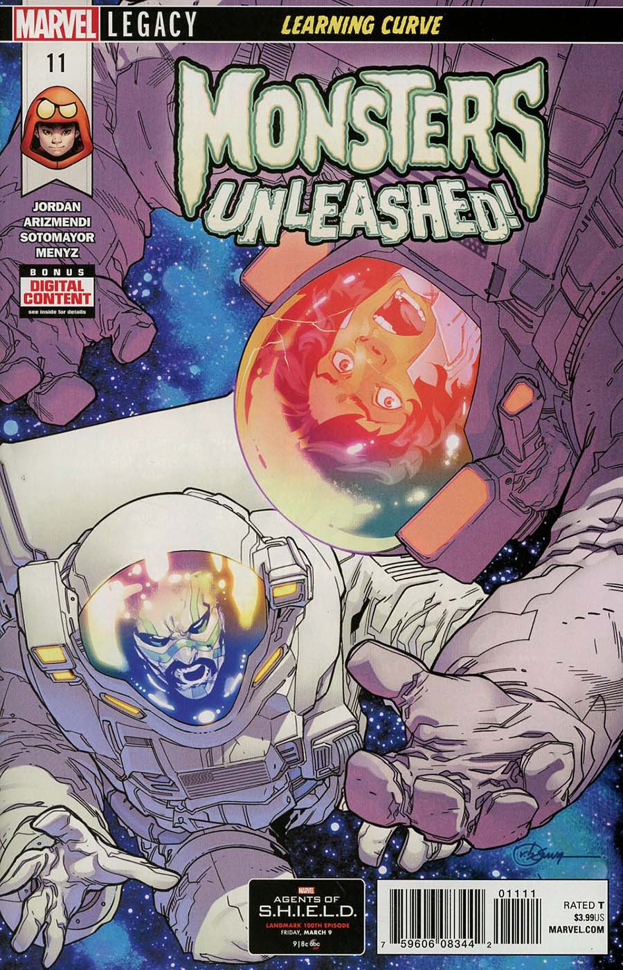 Monsters Unleashed Vol 2 #11 (Marvel Legacy Tie-In)