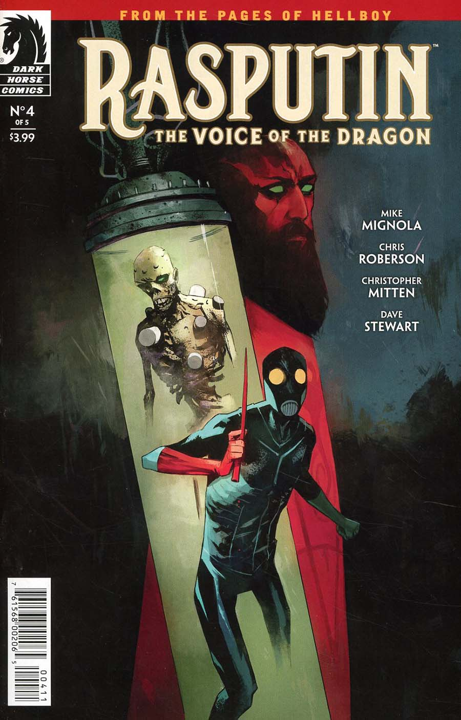 Rasputin Voice Of The Dragon #4 Cover A Regular Mike Huddleston Cover