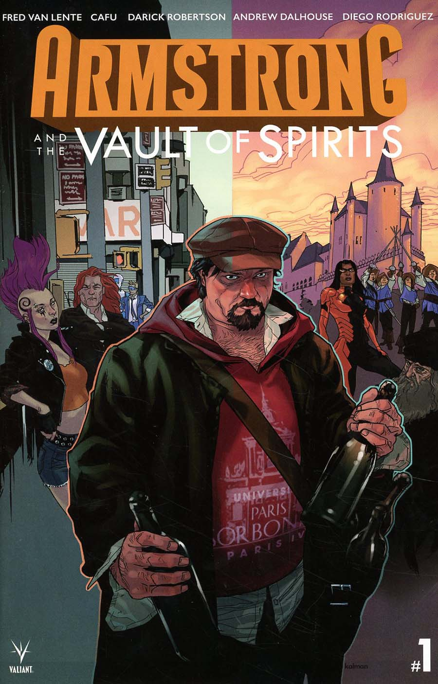 Armstrong And The Vault Of Spirits One Shot Cover A Regular Kalman Andrasofszky Cover