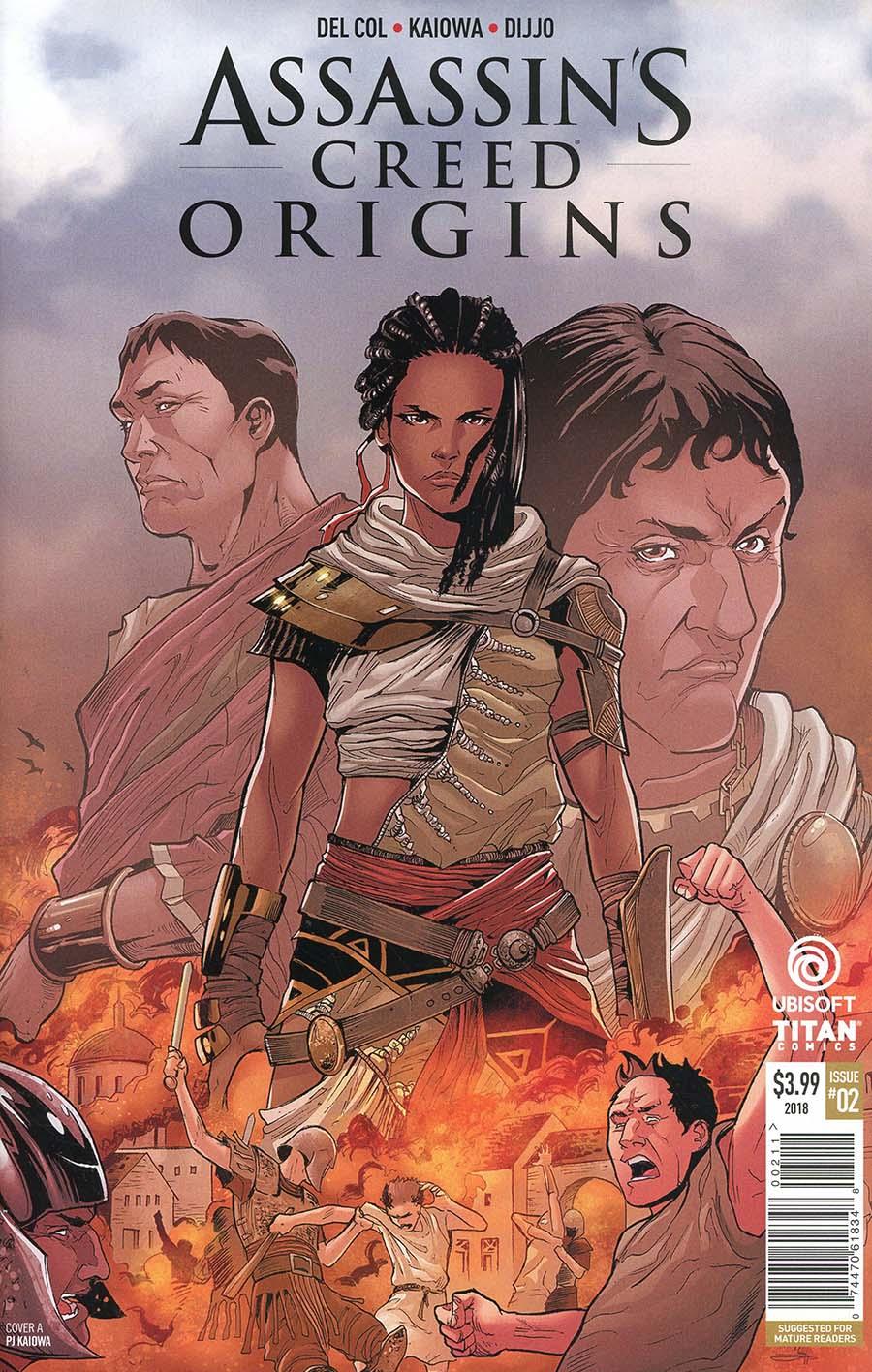 Assassins Creed Origins #2 Cover A Regular PJ Kaiowa Cover