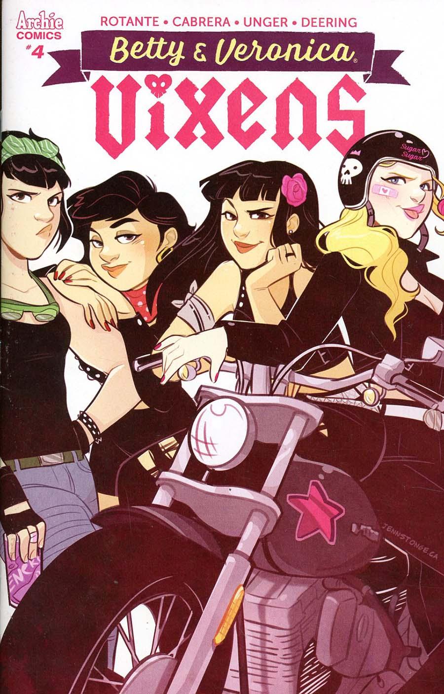 Betty & Veronica Vixens #4 Cover C Variant Jenn St Onge Cover