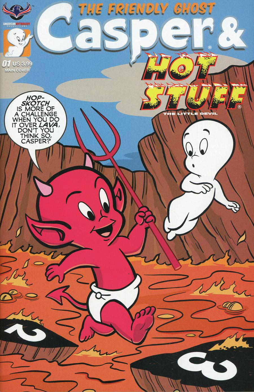 Casper And Hot Stuff #1 Cover A Regular Bill Galvan Cover