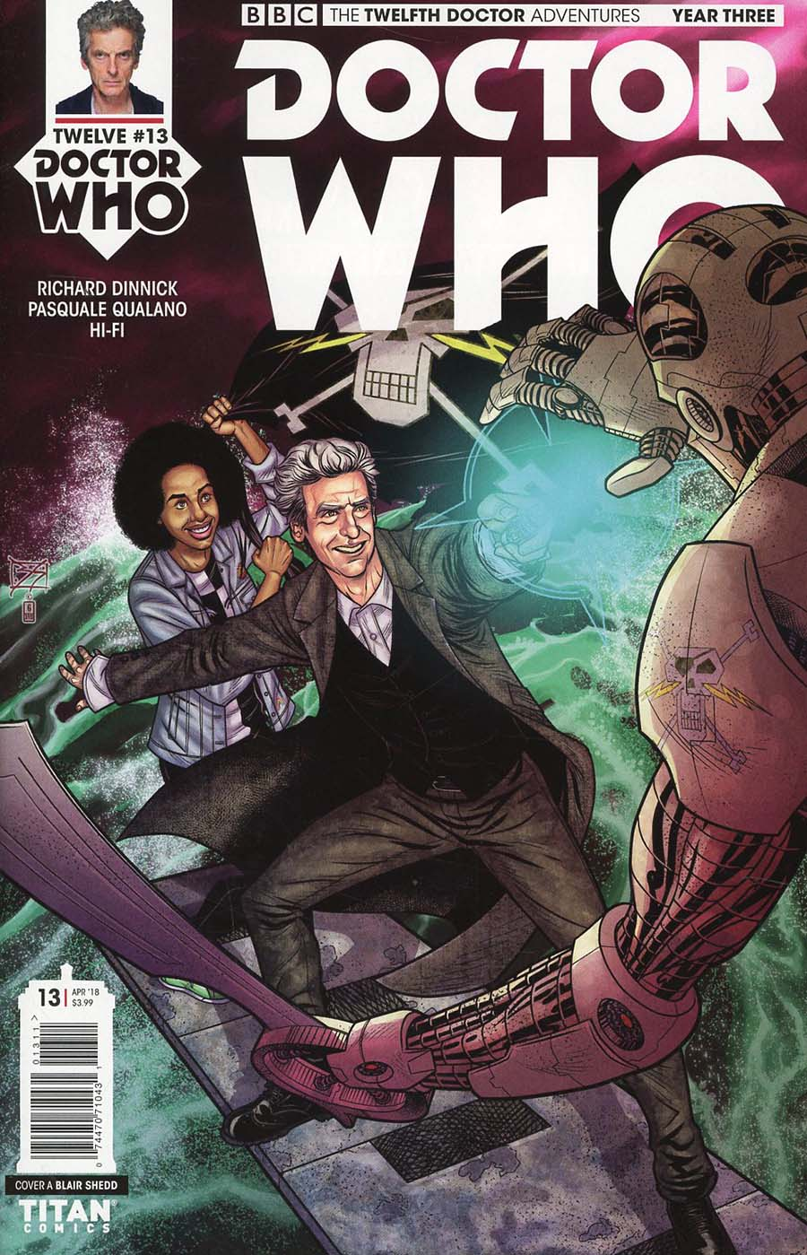 Doctor Who 12th Doctor Year Three #13 Cover A Regular Blair Shedd Cover
