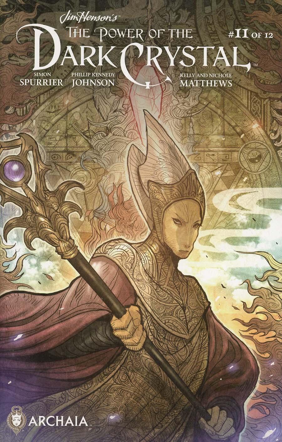 Jim Hensons Power Of The Dark Crystal #11 Cover B Variant Sana Takeda Subscription Cover