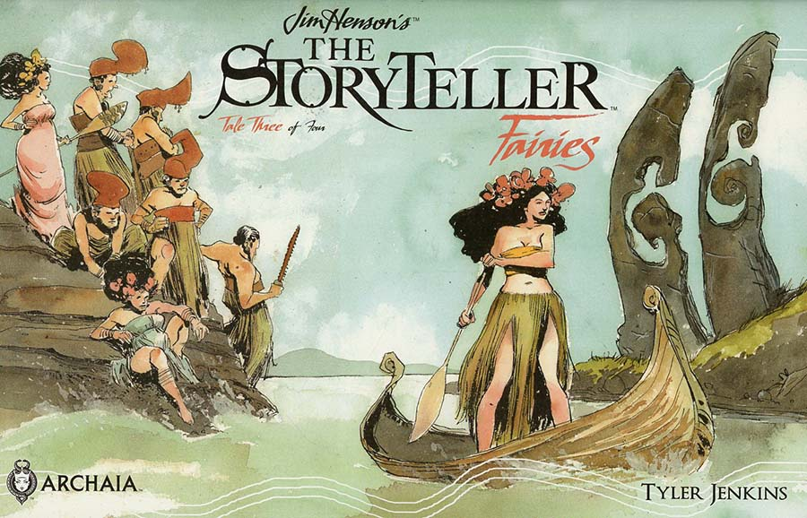 Jim Hensons Storyteller Fairies #3 Cover A Regular Benjamin Schipper Cover