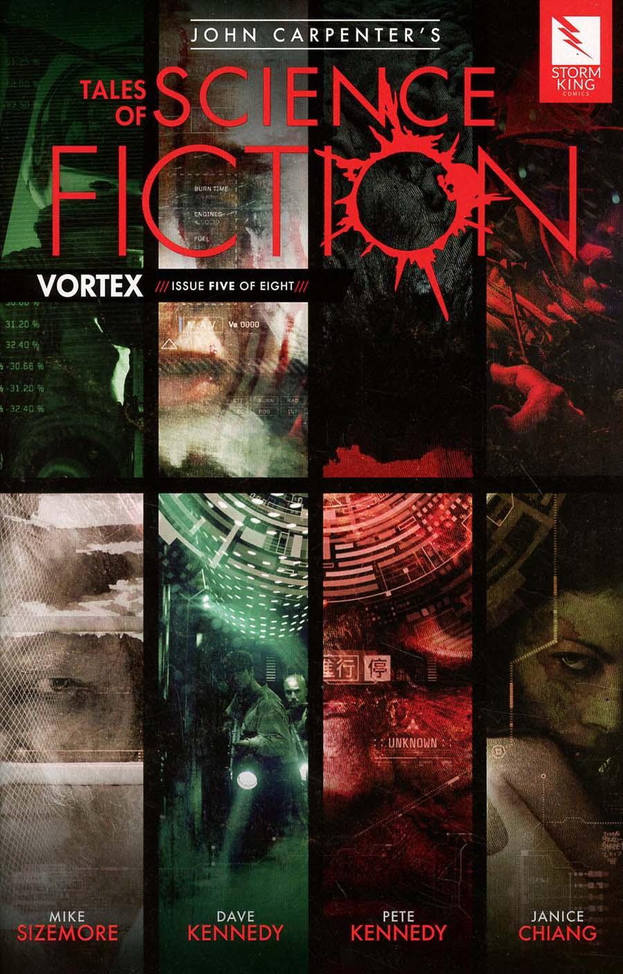 John Carpenters Tales Of Science Fiction Vortex #5