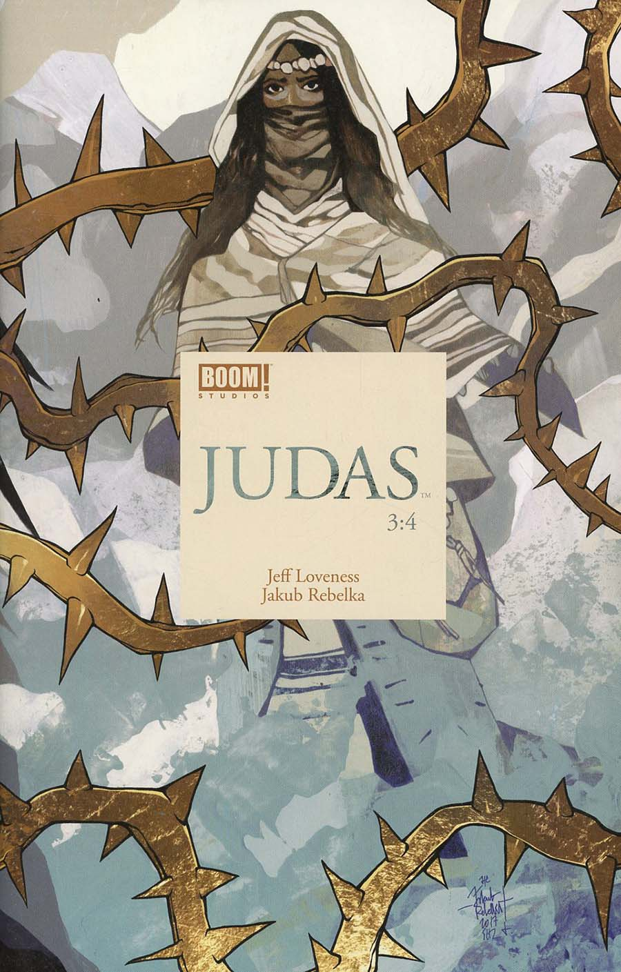 Judas #3 Cover A Regular Jakub Rebelka Cover