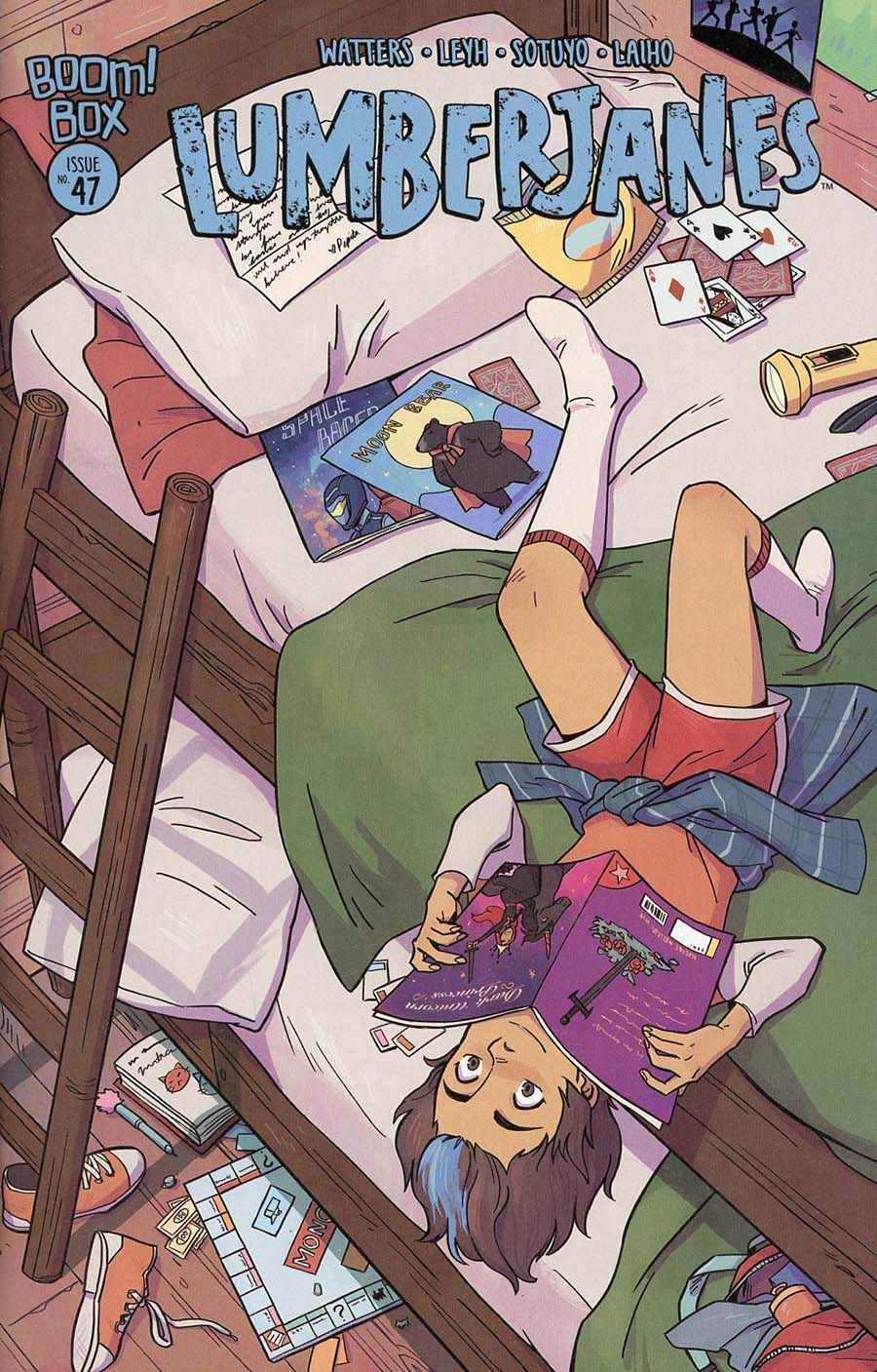 Lumberjanes #47 Cover B Variant Michelle Wong Subscription Cover