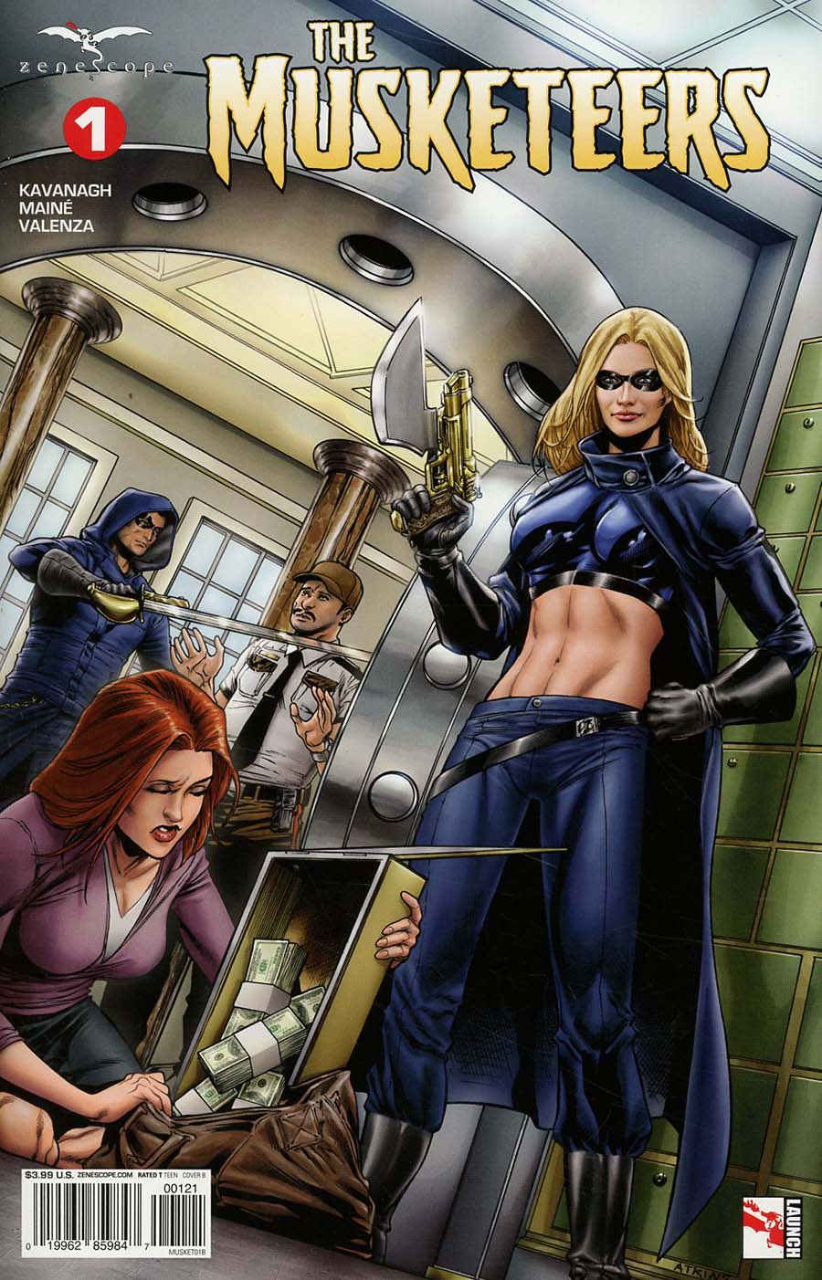 Grimm Fairy Tales Presents Musketeers #1 Cover B Robert Atkins