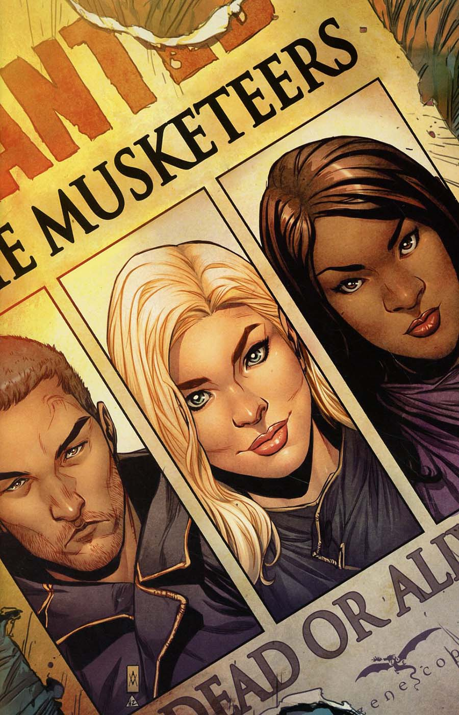 Grimm Fairy Tales Presents Musketeers #1 Cover D Ario Murti