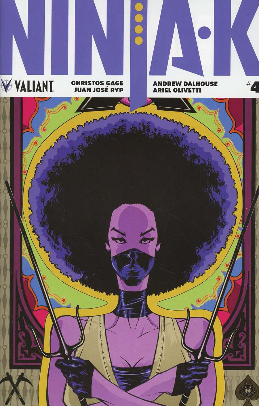 Ninja-K #4 Cover B Variant Adam Pollina Cover