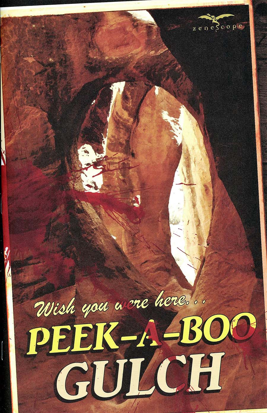 Peek-A-Boo #1 Cover D Postcard