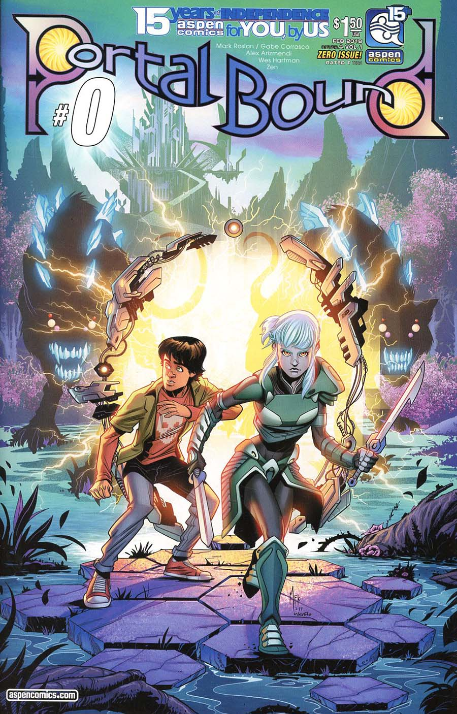 Portal Bound #0 Cover A Regular Alex Arizmendi Cover