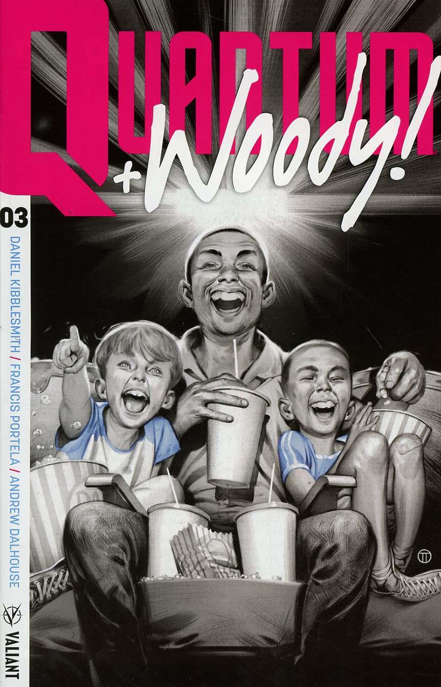 Quantum & Woody Vol 4 #3 Cover A Regular Julian Totino Tedesco Cover