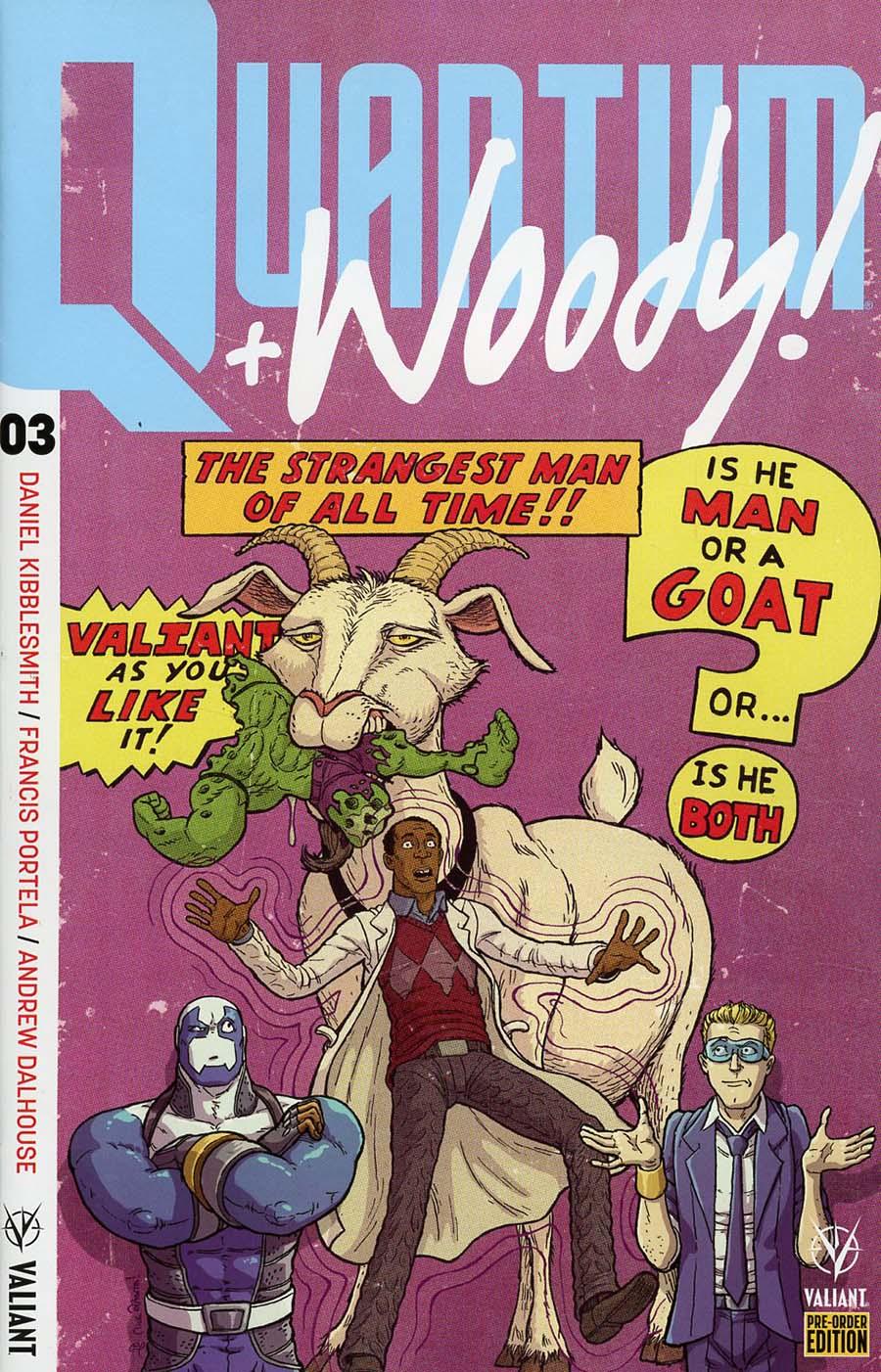 Quantum & Woody Vol 4 #3 Cover C Variant Nick Pitarra Cover