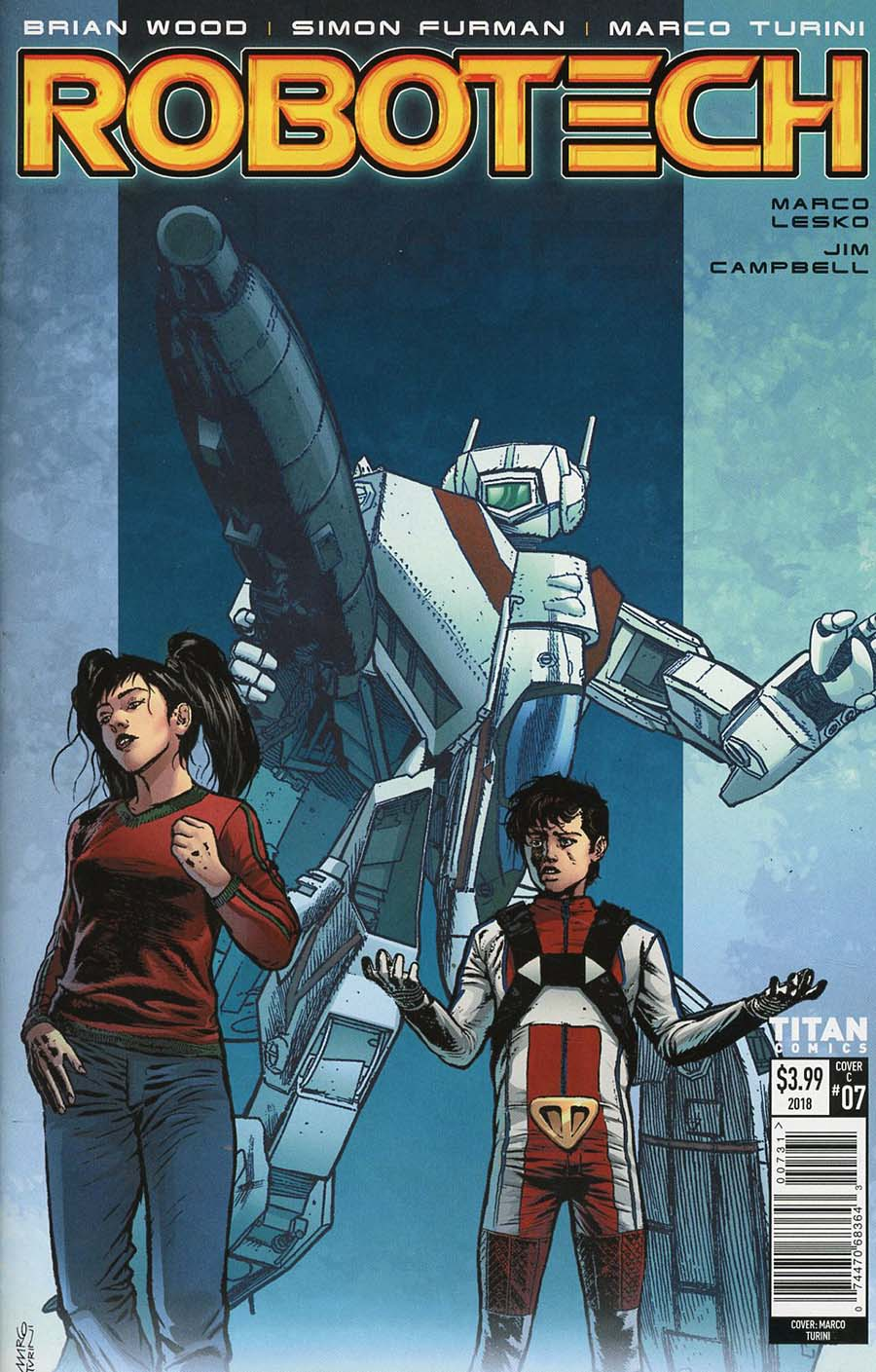 Robotech Vol 3 #7 Cover C Variant Marco Turini Cover
