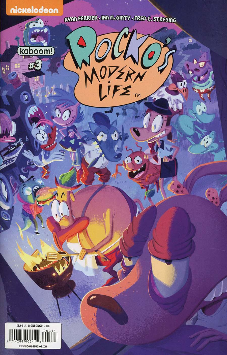 Rockos Modern Life Vol 2 #3 Cover A Regular Jorge Monlongo Cover