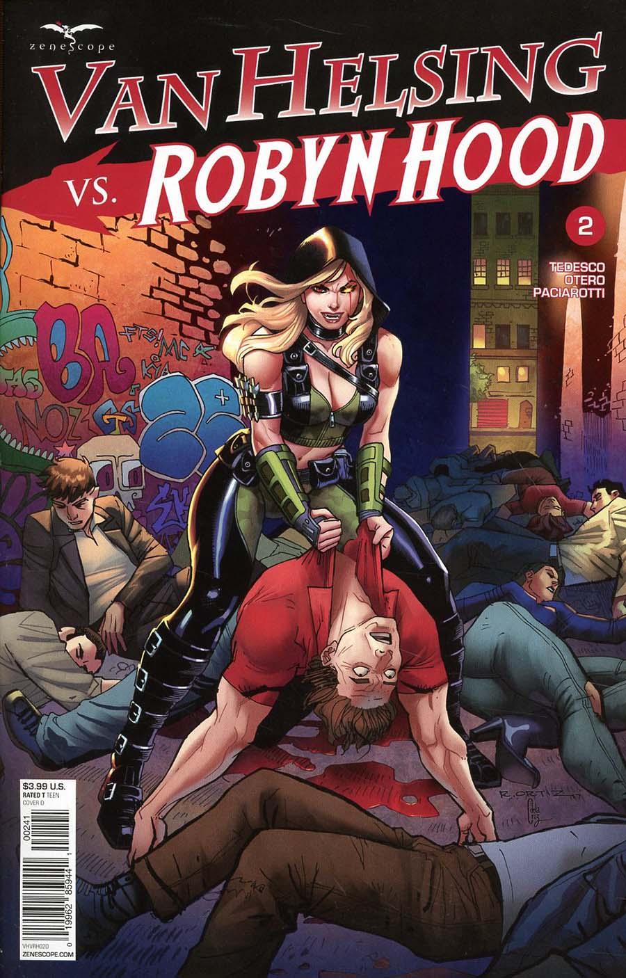 Grimm Fairy Tales Presents Van Helsing vs Robyn Hood #2 Cover D Richard Ortiz