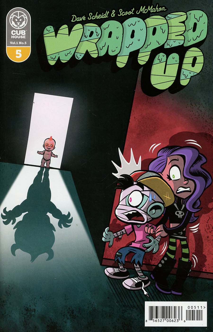 Wrapped Up #5 Cover A Regular Scoot McMahon & Sean Dove Cover