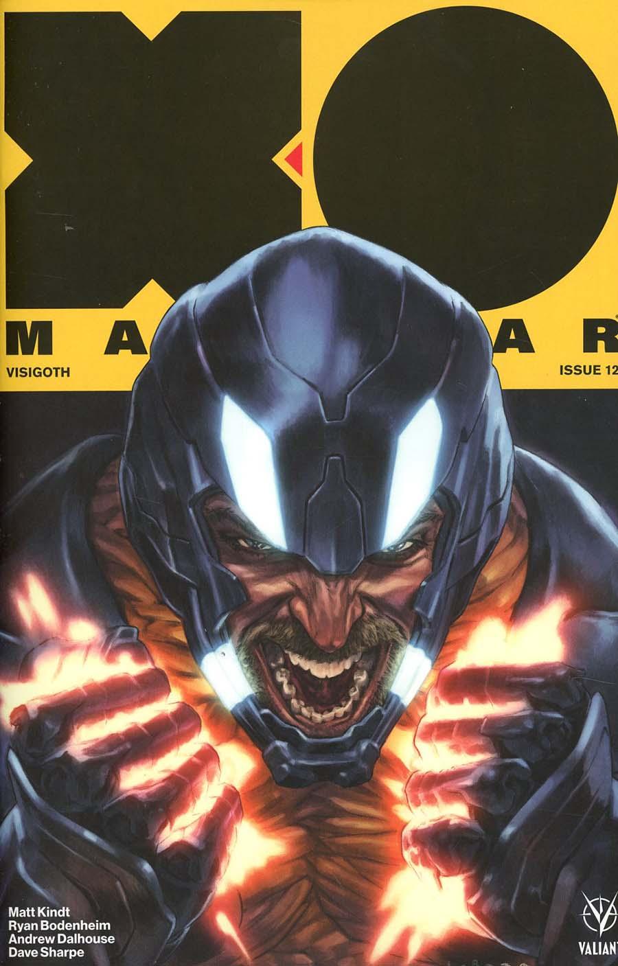 X-O Manowar Vol 4 #12 Cover A Regular Lewis Larosa Cover