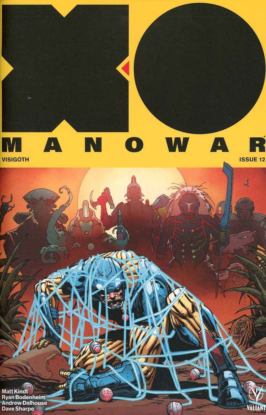X-O Manowar Vol 4 #12 Cover B Variant Giuseppe Camuncoli Cover