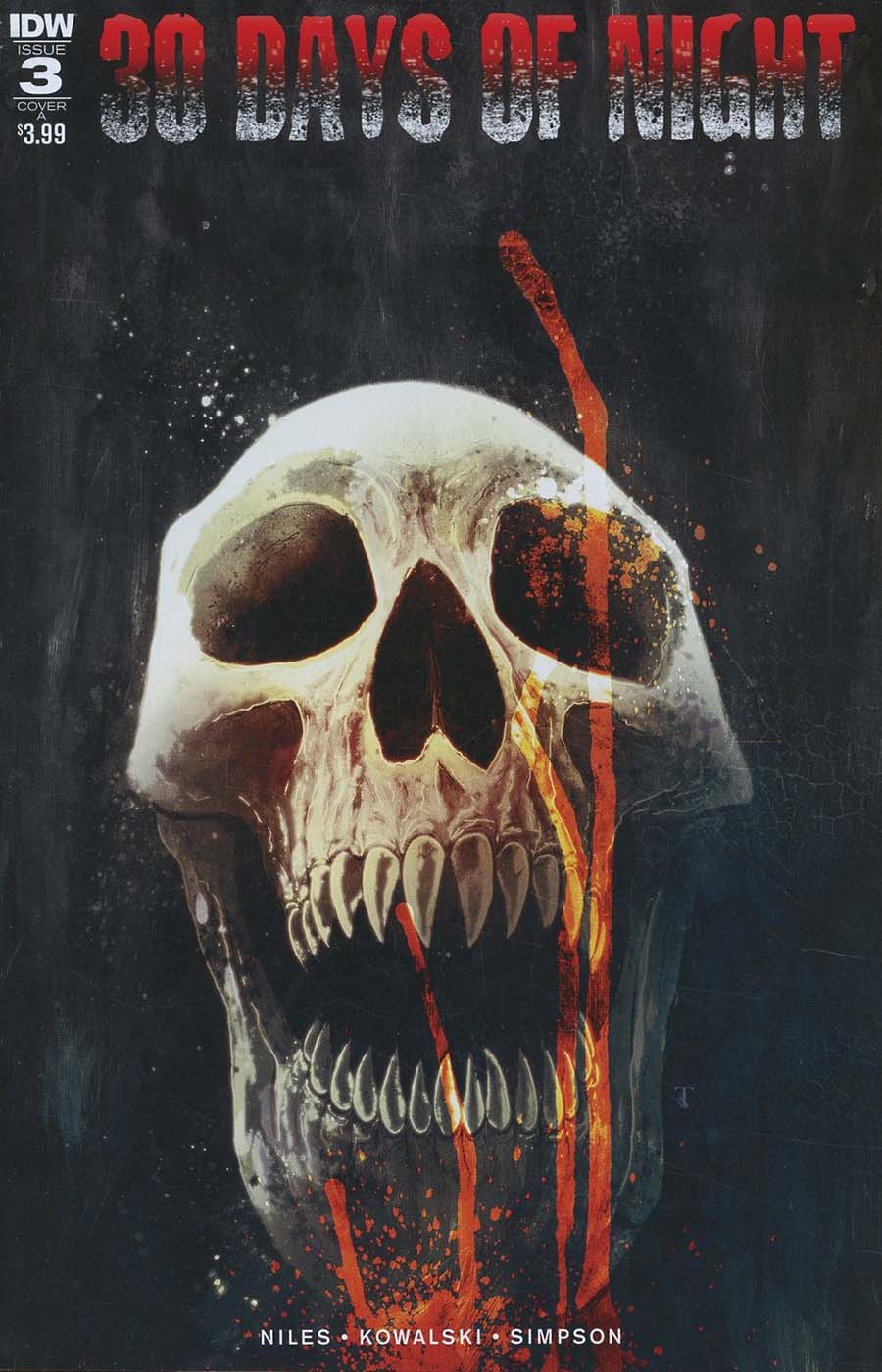 30 Days Of Night Vol 3 #3 Cover A Regular Ben Templesmith Cover