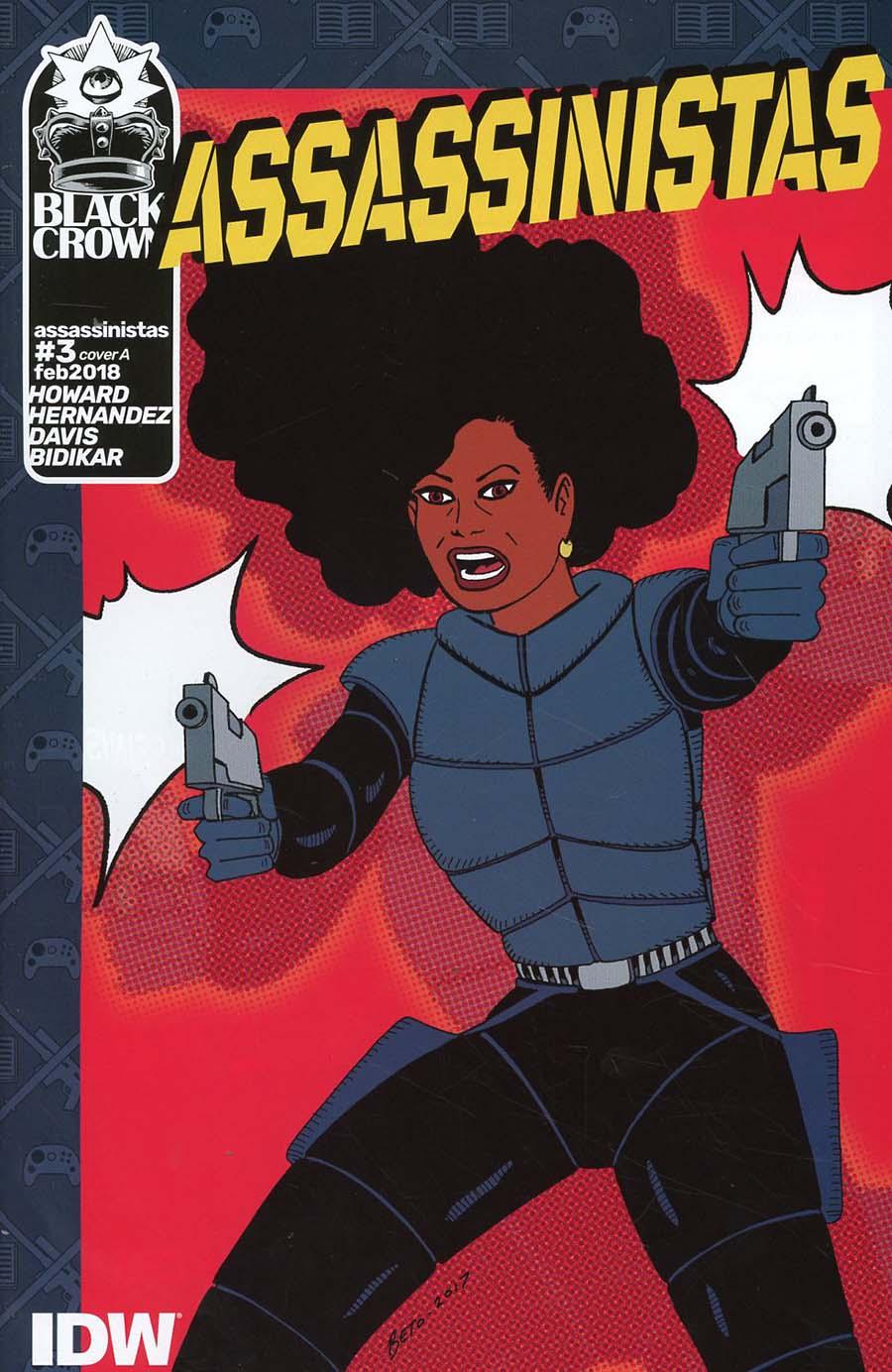 Assassinistas #3 Cover A Regular Gilbert Hernandez Cover