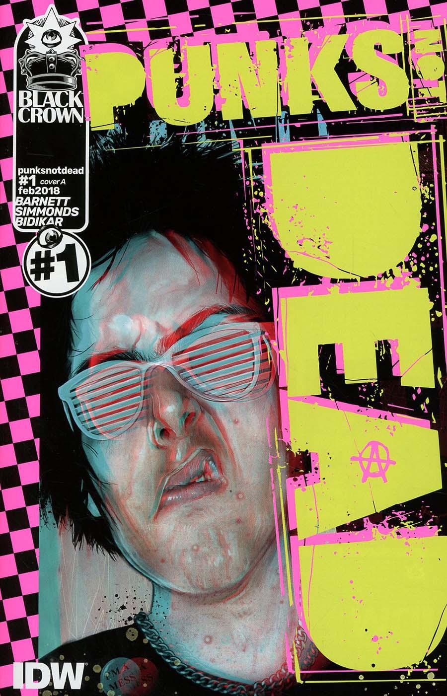 Punks Not Dead #1 Cover A Regular Martin Simmonds Cover