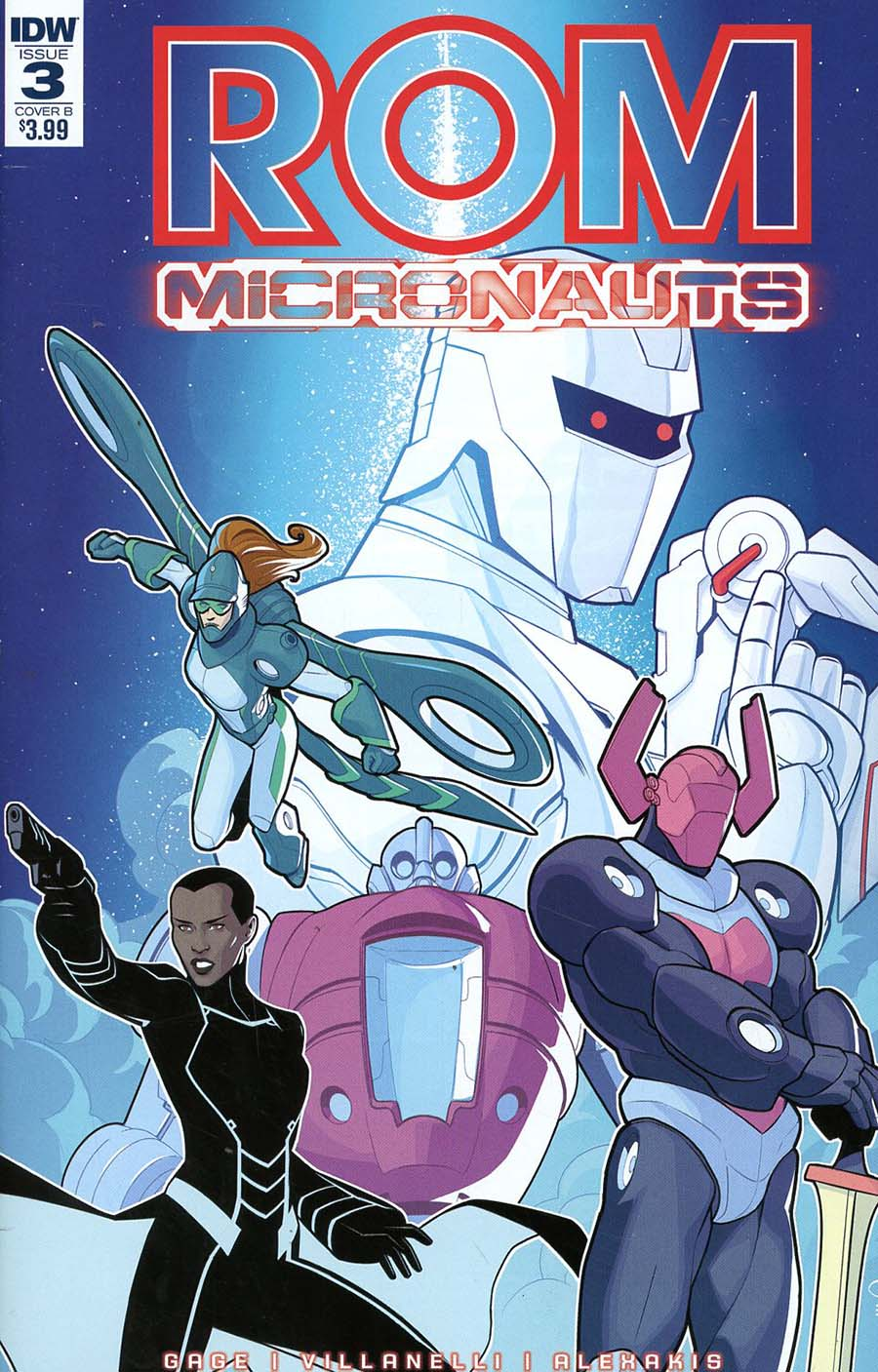 ROM And The Micronauts #3 Cover B Variant Chris Evenhuis Cover
