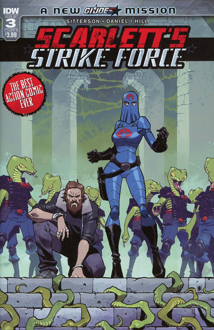 Scarletts Strike Force #3 Cover B Variant Nelson Daniel Cover