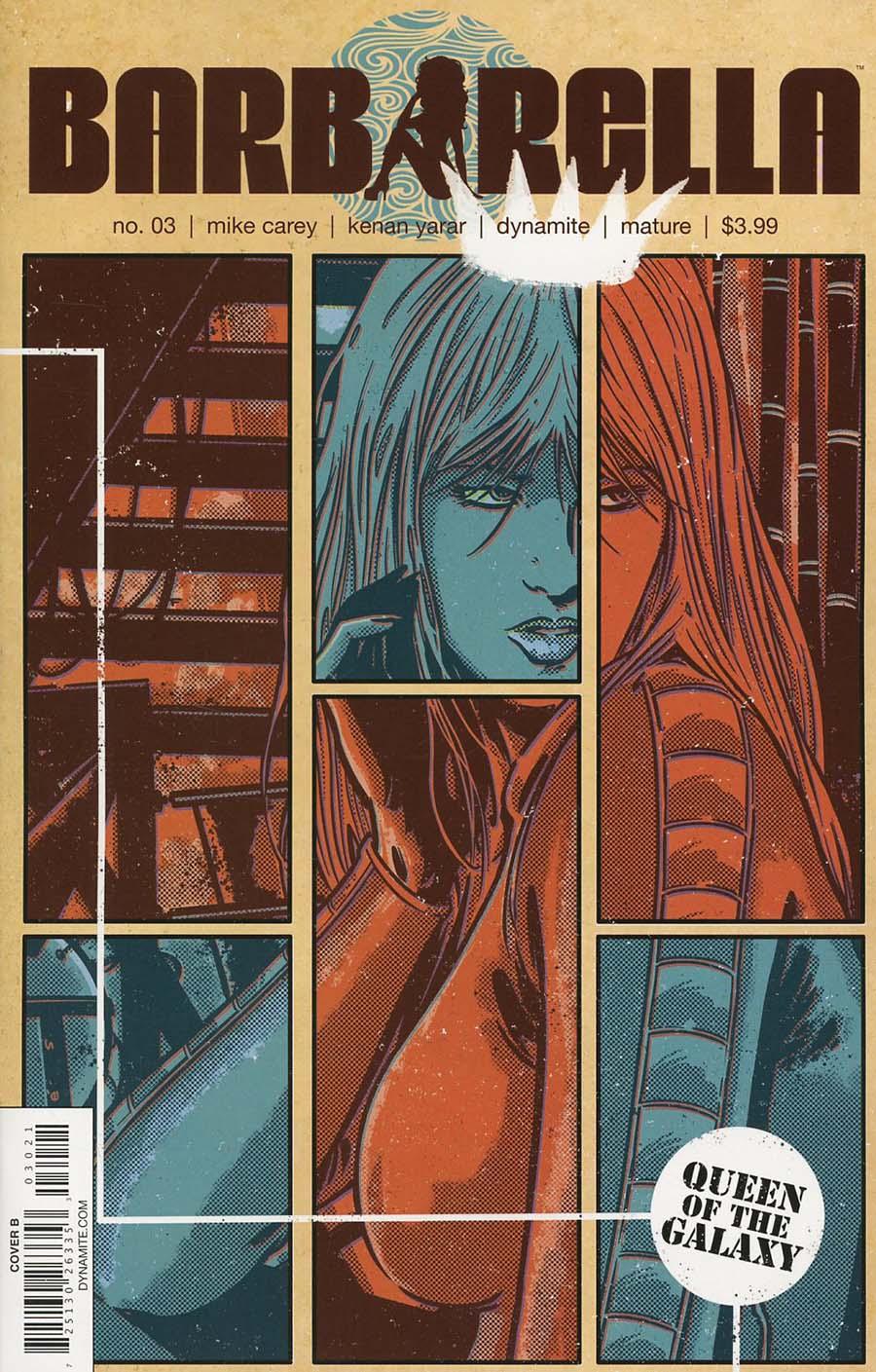 Barbarella #3 Cover B Variant Jorge Fornes Cover