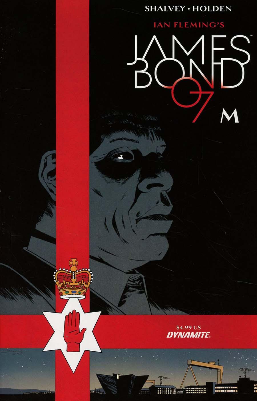 James Bond M One Shot