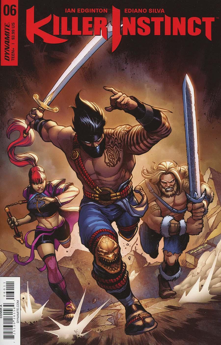 Killer Instinct Vol 2 #6 Cover A Regular Yildiray Cinar Cover