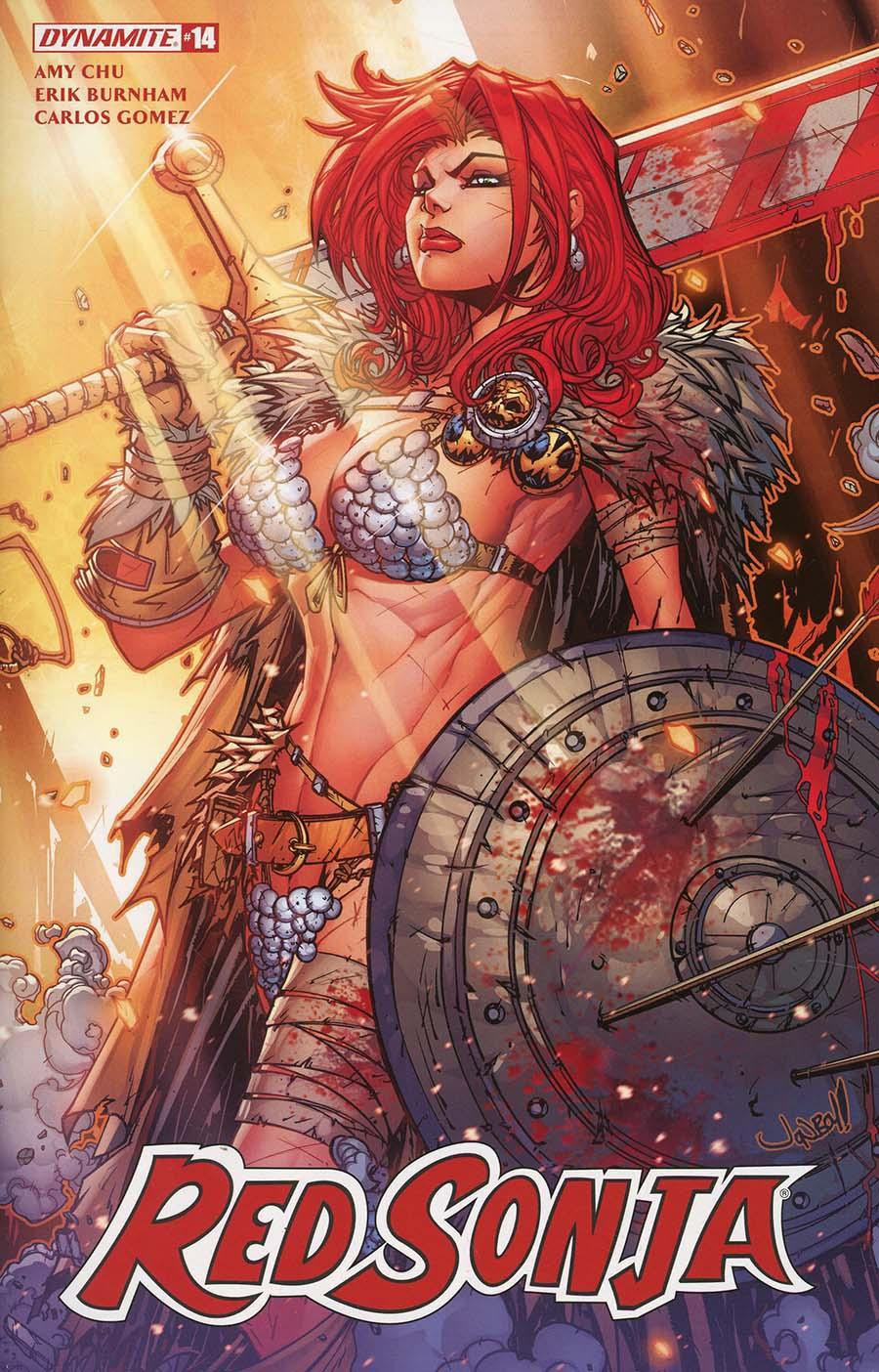 Red Sonja Vol 7 #14 Cover A Regular Jonboy Meyers Cover