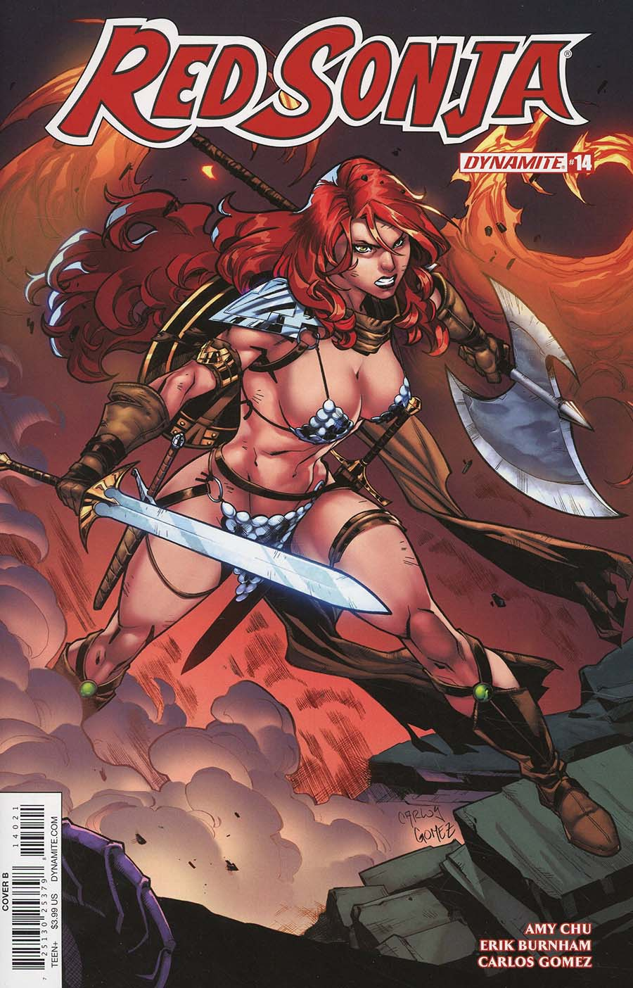 Red Sonja Vol 7 #14 Cover B Variant Carlos Gomez Cover