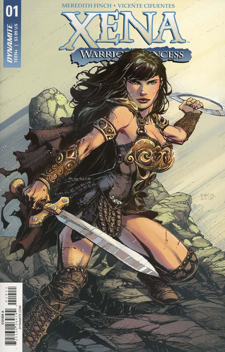 Xena Vol 2 #1 Cover A Regular David Finch Cover