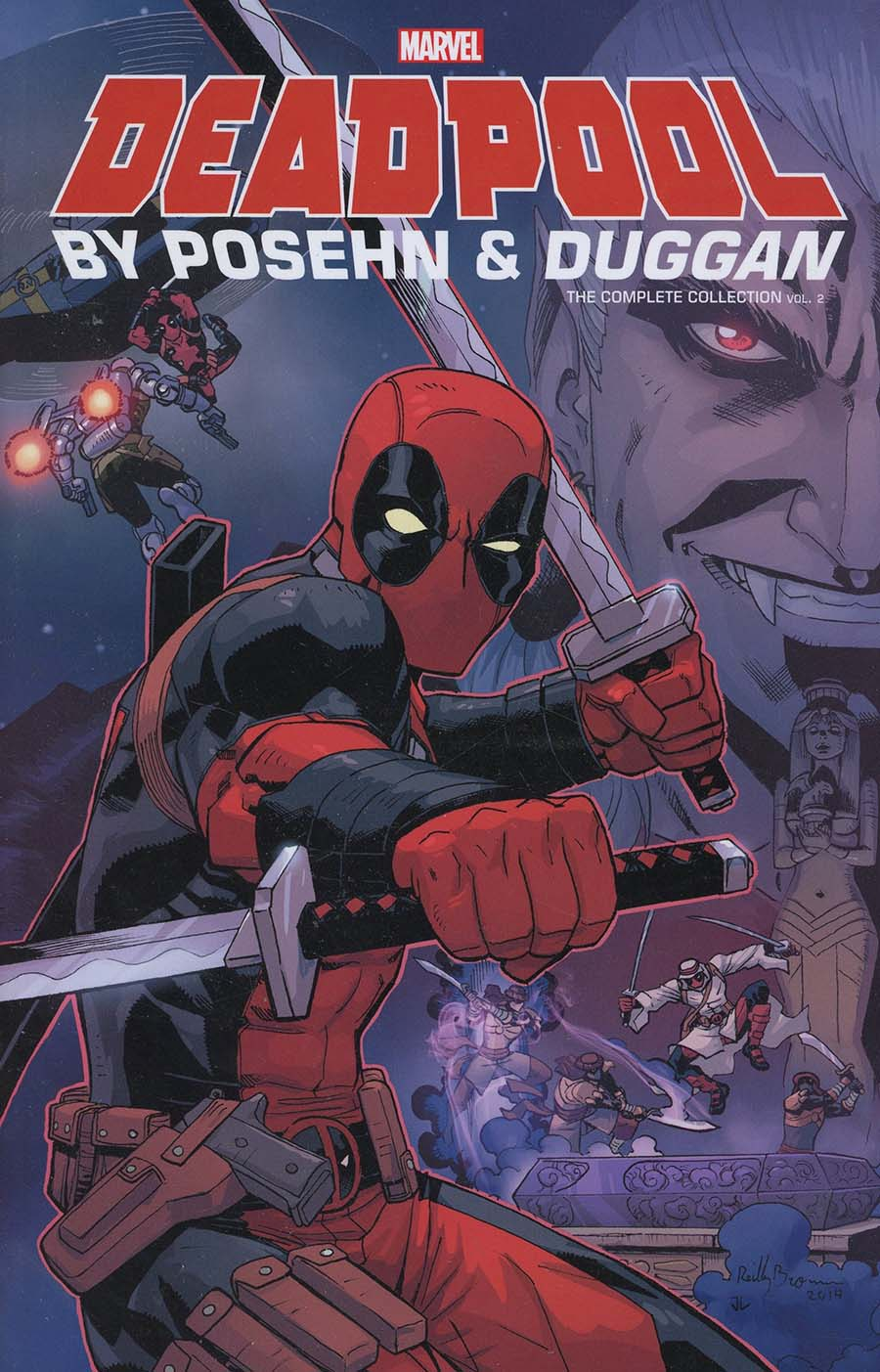 Deadpool By Brian Posehn & Gerry Duggan Complete Collection Vol 2 TP