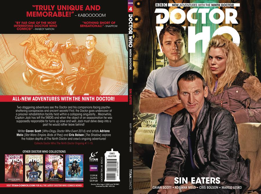 Doctor Who 9th Doctor Vol 4 Sin Eaters TP