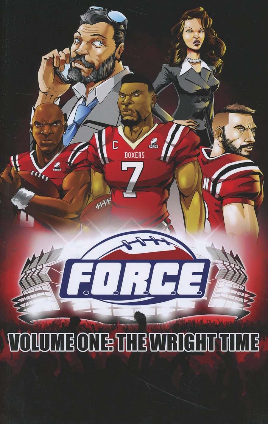 F.O.R.C.E. Vol 1 Wright Time TP