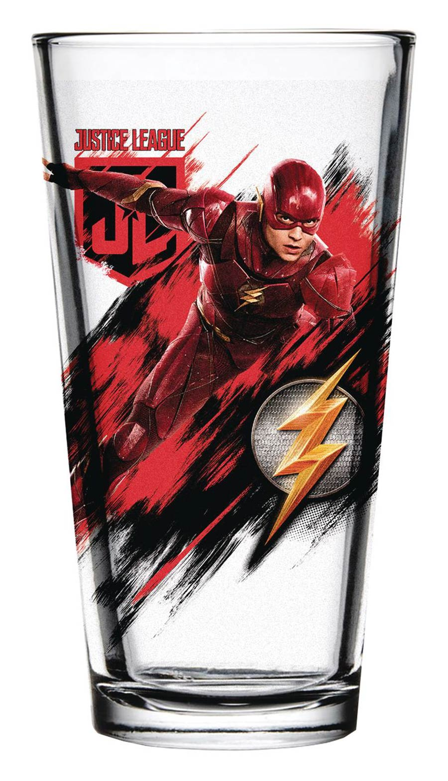 Justice League Movie Pint Glass - Flash