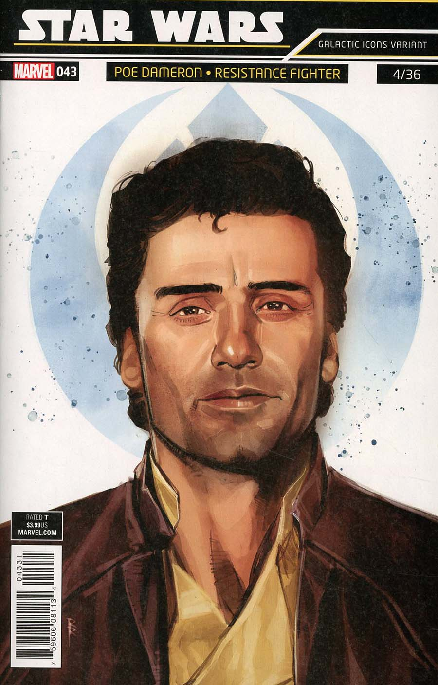 Star Wars Vol 4 #43 Cover B Variant Rod Reis Galactic Icon Cover