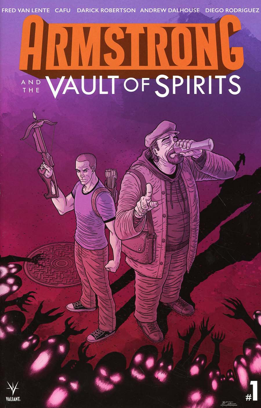 Armstrong And The Vault Of Spirits One Shot Cover C Incentive Ryan Bodenheim Variant Cover
