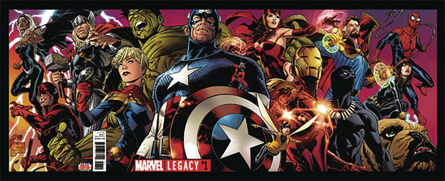 Marvel Legacy #1 Cover T DF Signed By Joe Quesada