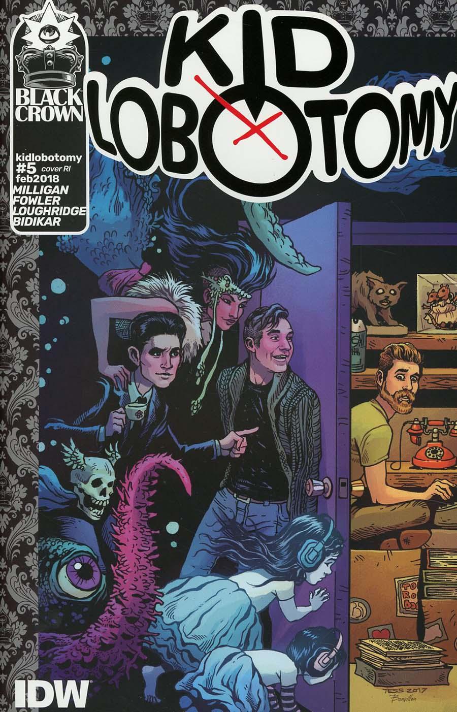Kid Lobotomy #5 Cover C Incentive Brandon Graham Variant Cover