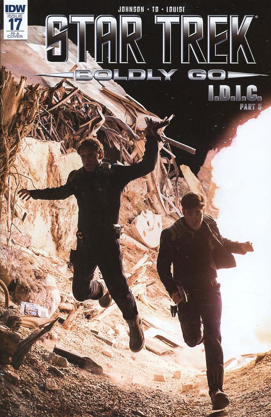 Star Trek Boldly Go #17 Cover C Incentive Photo Variant Cover