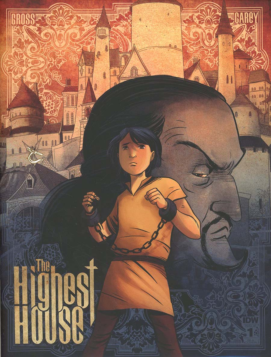 Highest House #1 Cover B Incentive Peter Gross Variant Cover