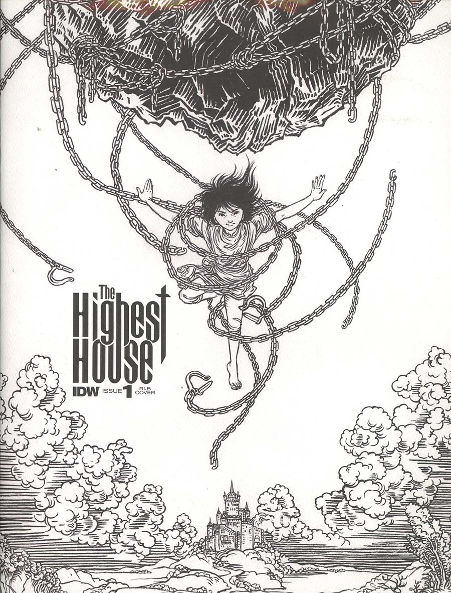Highest House #1 Cover C Incentive Yuko Shimizu Sketch Cover