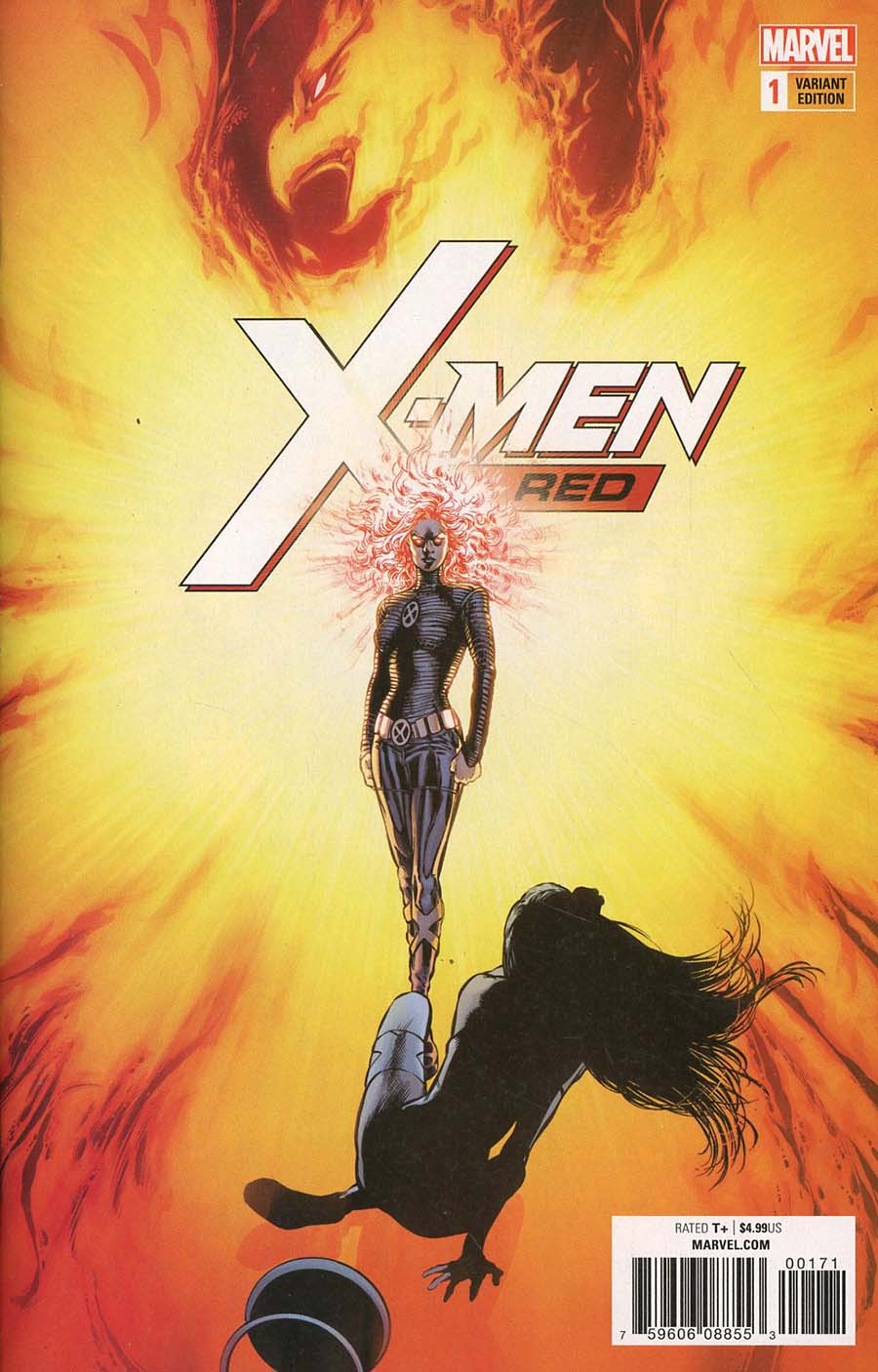 X-Men Red #1 Cover H Incentive Phil Jimenez Remastered Color Variant Cover (Marvel Legacy Tie-In)