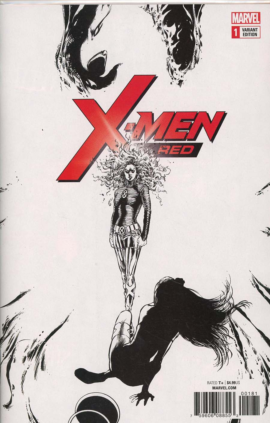 X-Men Red #1 Cover I Incentive Phil Jimenez Remastered Sketch Variant Cover (Marvel Legacy Tie-In)